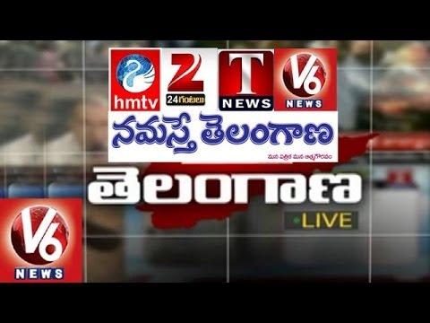 Telangana Media role in Telangana Movement - Spot Light