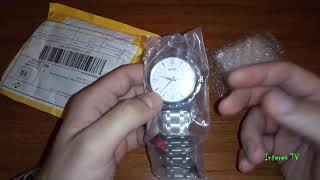 Кварцевые часы Skmei 9069. Распаковка и обзор посылки с AliExpress.