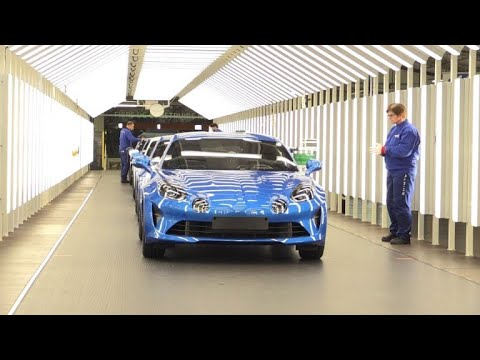 """Automobile: renaissance de la célèbre """"Alpine"""" à Dieppe"""
