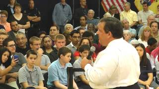 Entire Gov. Christie Elmwood Park NJ Town Hall Meeting  Sept.18,2012