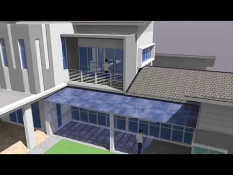 Rekabentuk Ubahsuai Rumah Teres 2 Tingkat Lot Tepi Seksyen U13 Shah Alam Youtube