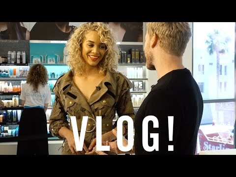 Moroccanoil Sephora Meet and Greet with Golden Barbie!