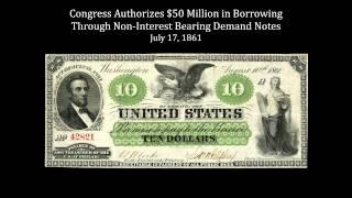 Funding the American Civil War-1861: A Revolution in Government Finance