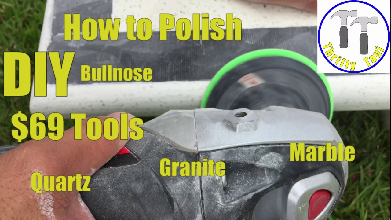 69 Diy How To Polish A Quartz Granite Or Marble Countertop Bullnose Square Edge Profile