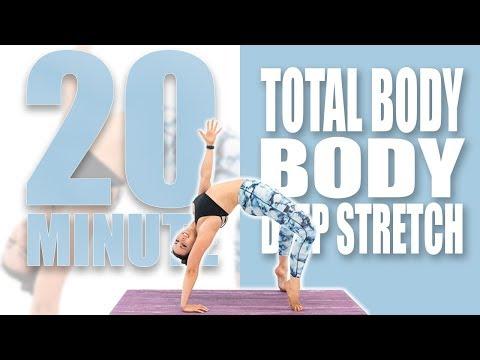 20 Minute Deep Stretch | Sydney Cummings