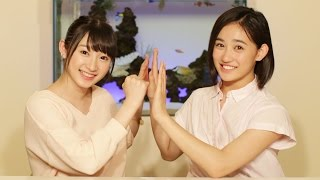 MCは、Juice=Juice宮本佳林と、アンジュルム佐々木莉佳子! つばきファ...