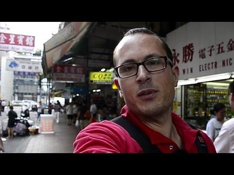 Camera & tech shopping in Hong Kong