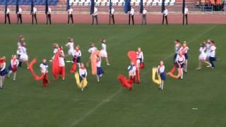открытие спартакиады на стадионе Зенит 2015 год