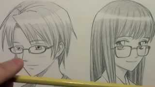 How to Draw Eye Glasses(Universo Mangaká)