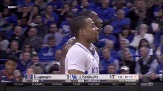 Bam Adebayo Goes Hard in the Paint for a Wildcat Dunk