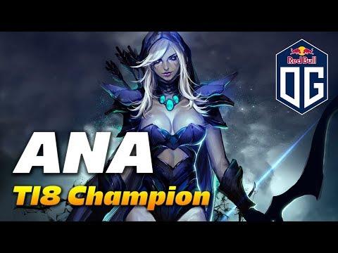 ANA DROW RANGER | TI8 Champion | Dota 2 Pro Gameplay thumbnail