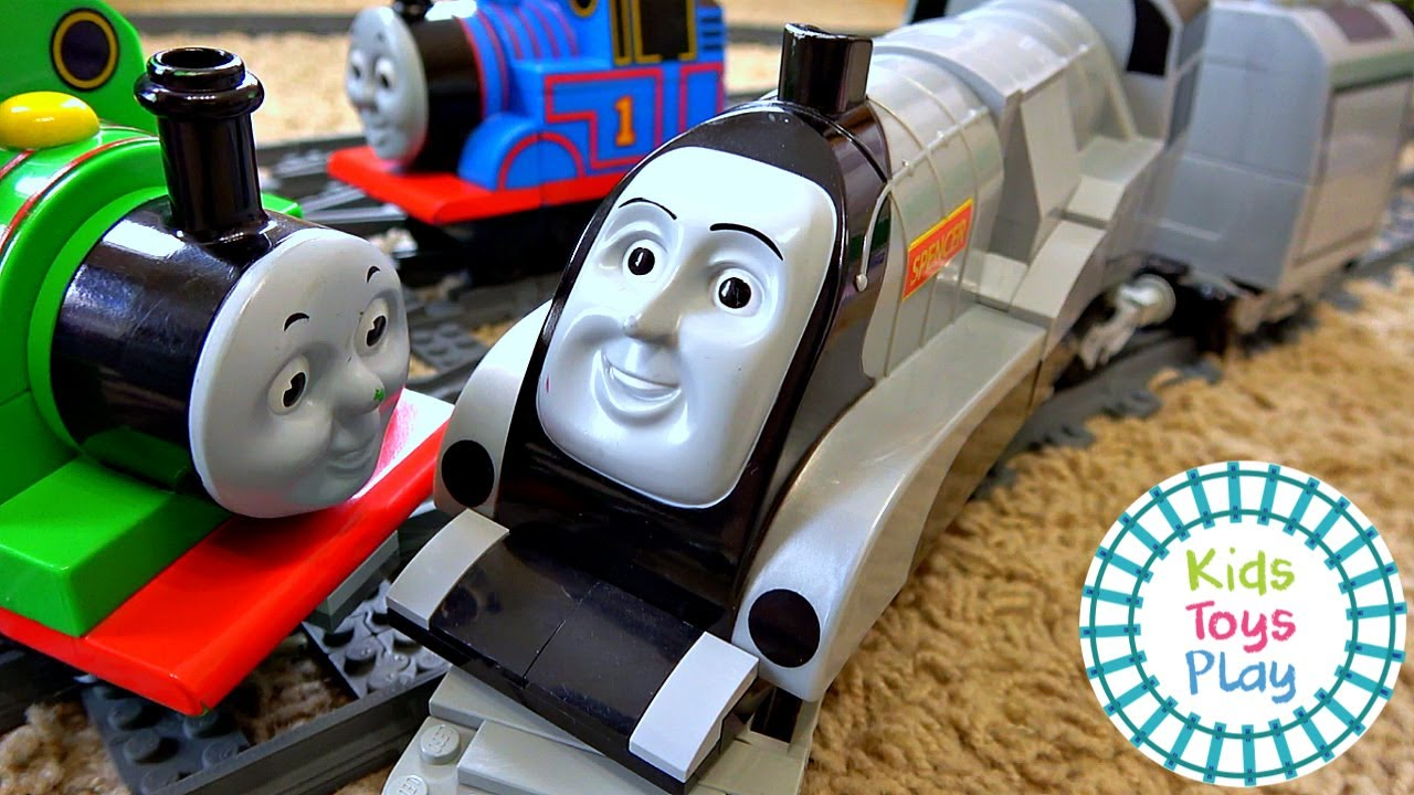 Thomas the Tank Engine Lego Train Great Race Gordon vs Spencer Conclusion
