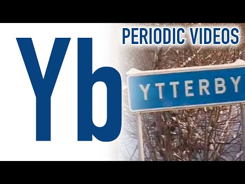 Video image: Ytterbium - Periodic Table of Videos