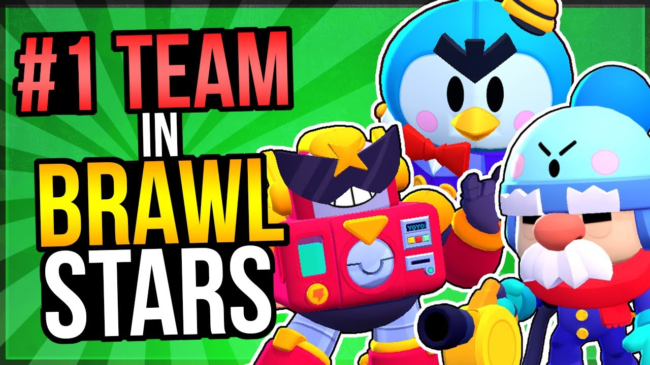 The BEST TEAM in Brawl Stars! 75% WIN RATE at High Trophies!