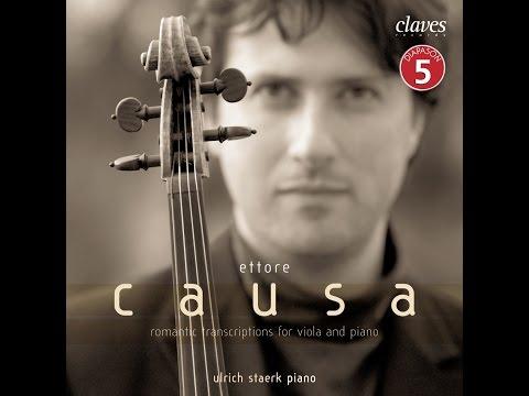 Ettore Causa, Viola / Ulrich Staerk, Piano - Piotr Ilich Tchaikowsky - Valse sentimentale