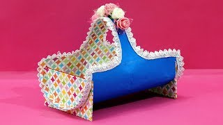DIY Basket : You will FALL in LOVE to see THIS BEST OUT OF WASTE CRAFT     Plastic Bottle Craft Idea