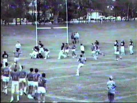 Queensland Gridiron Football League Centurions v Bulldogs 1985