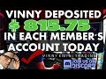 FOREX Signals | Vinny Deposits $815.75 into EACH MEMBERS Account Today
