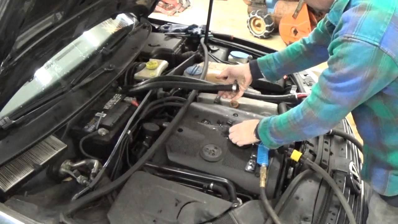 Passat Heater Core Flush 1 8t Youtube