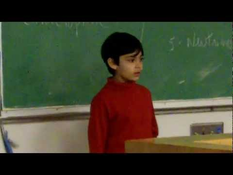 Tanishq Abraham - 8 yr old Child Prodigy Talks Particle Physics