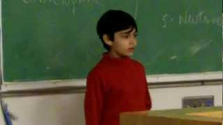 Tanishq Abraham - 8 yr old Child Prodigy Talks Particle Physics 2017 Video