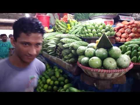 Vegetables Market Banani Kacha Bazar Dhaka Bangladesh