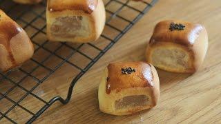 만주 : Manju Easy Recipe (sweet Buns With White Bean Paste) : 꿀키