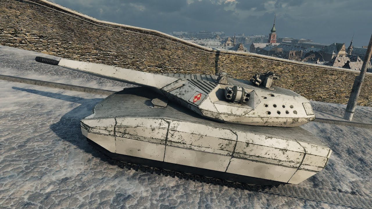 World of Tanks PL-01 Concept (reskin for T-100 LT by _RazNaRok_) 1565 EXP - Winter Himmelsdorf