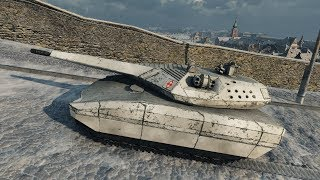 World of Tanks PL-01 Concept (reskin for T-100 LT by _RazNaRok_) 1565 EXP - Winter Himmelsdorf