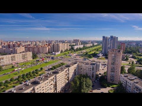 Окрестности Проспекта Просвещения | аэросъемка | Выборгский район | Санкт-Петербург