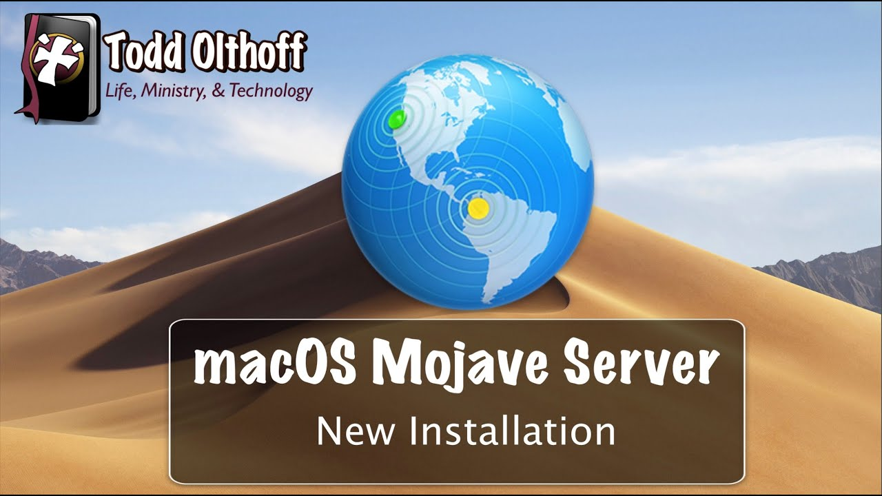 macOS Mojave Server Part 2: New Installation