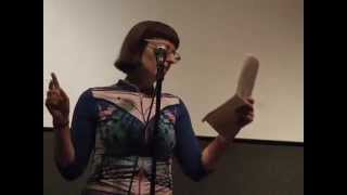 Lillian Medville reads at Literary Firsts