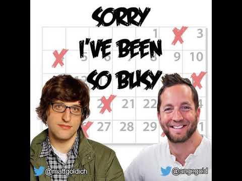 Sorry I've Been So Busy - Michael Kaplan