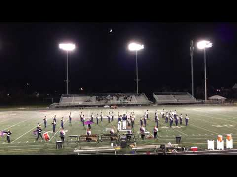 Edison High School Marching Band, Senior Night, November 4, 2016