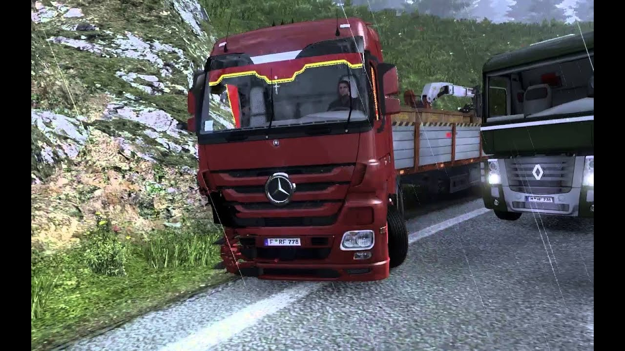 Euro Truck Simulator 2 Türkçe Online | Otobanda Dehşet