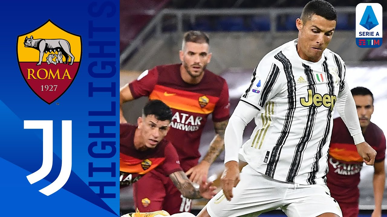 Roma 2-2 Juventus | Ronaldo's Brace Rescues a Point for Juventus! | Serie A TIM