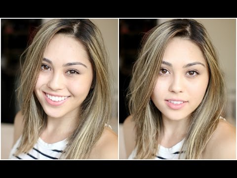 Minimal Makeup Tutorial | FULL FACE - Only 5 Products Used | Enhance Natural Beauty | Roxette Arisa