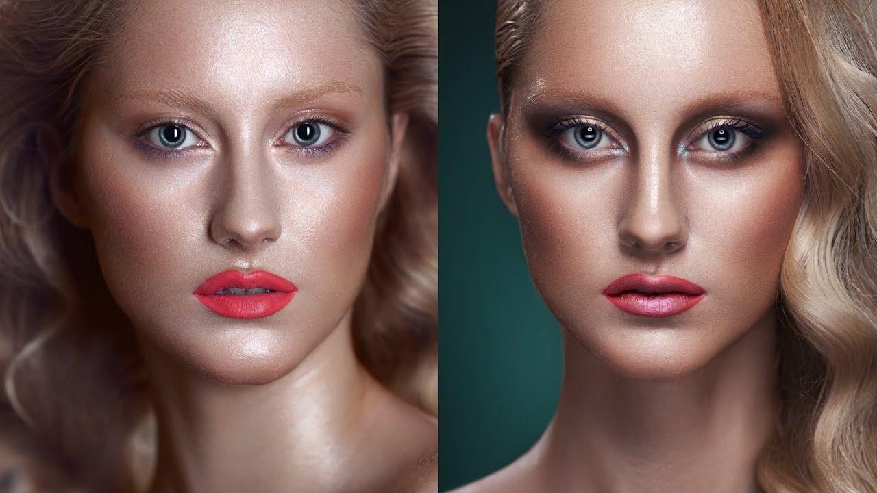 Фотошоп как сделать глянцевое лицо