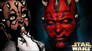 Why Darth Maul Was BORN With Sith Eyes - Star Wars Explained