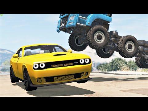 Extreme Crashes #164 - BeamNG Drive | CRASHdriven