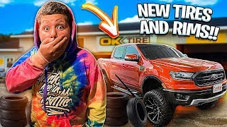 new-rims-and-tires-for-the-truck-little-brother-freaks-out-he-hates-it-braap-vlogs