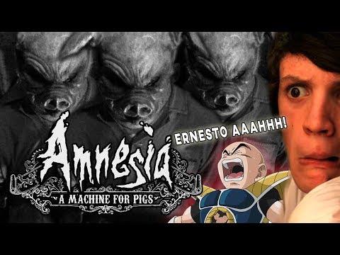 SE VIENEN LOS CHANCHOS + KRILIN   AMNESIA: A MACHINE FOR PIGS #2