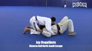 Reverse Roll North-South Escape by Jay Regalbuto of South Jersey Brazilian Jiu-Jitsu • Nogi Bear®