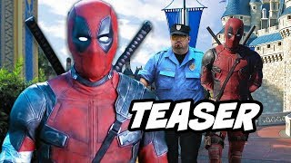 Deadpool 2 Teaser - Deadpool Pranks Zayn Malik and Fox Marvel Movie Changes