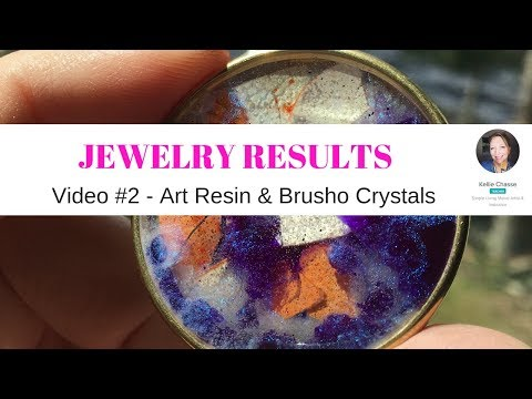 #2 Jewelry Results DIY Art Resin