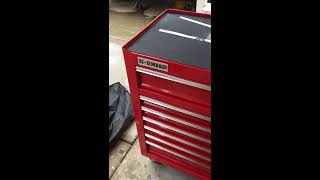 harbor freight 44 13 drawer tool chest holiday 2016 review of awesome drawer function