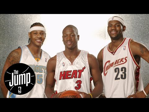 Dwyane Wade Says 2017 NBA Draft Class Is 'Special' Like 2003 | The Jump | ESPN