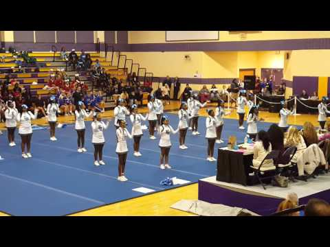 East Gadsden High School Cheerleaders