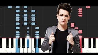 Panic At The Disco - High Hopes (Piano Tutorial)