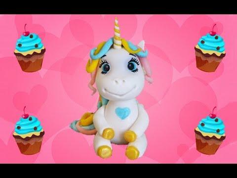 Единорог из мастики мастер-класс. Unicorn Made Of Sugar Paste